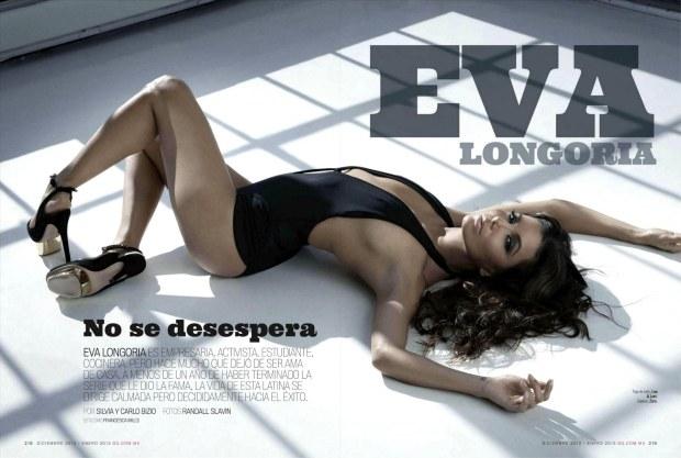 Eva Longoria Strips Down for GQ Mexico December 2012 [Photos] 002