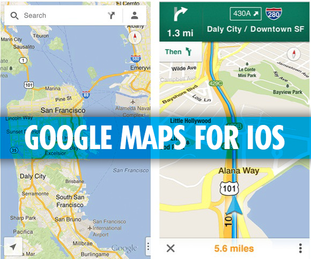 Google Maps For Ios Now Live In App Store News Tech