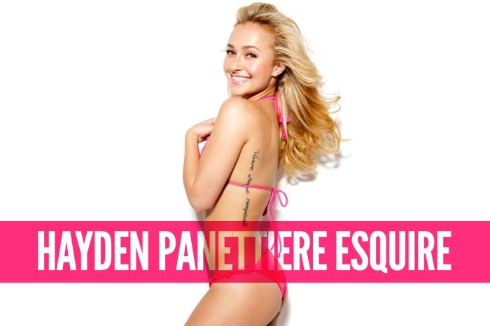 Hayden Panettiere Esquire Magazine Photoshoot [Photos] 001