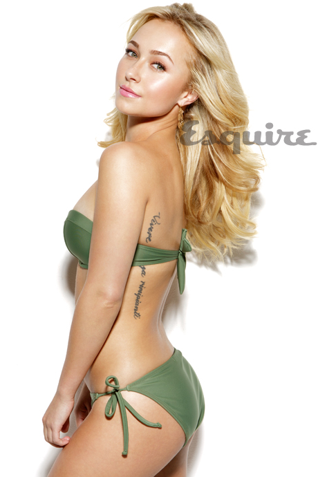 Hayden Panettiere Esquire Magazine Photoshoot [Photos] 002