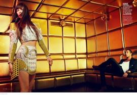 Jessica Biel by Thomas Whiteside for Elle US, January 2013 [Photos] 001