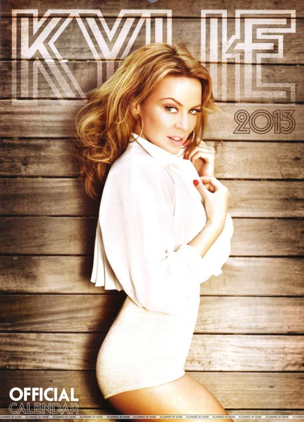 Kylie Minogue Calendar 2013 [Photos] 001