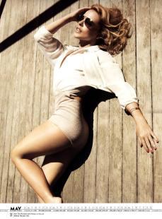 Kylie Minogue Calendar 2013 [Photos] 006