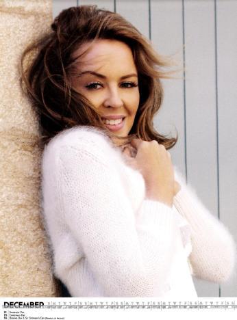 Kylie Minogue Calendar 2013 [Photos] 013