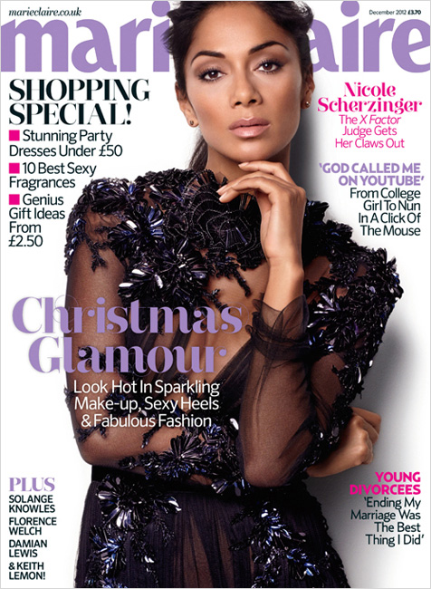 Nicole Scherzinger for Marie Claire UK December 2012 [Photos] 001