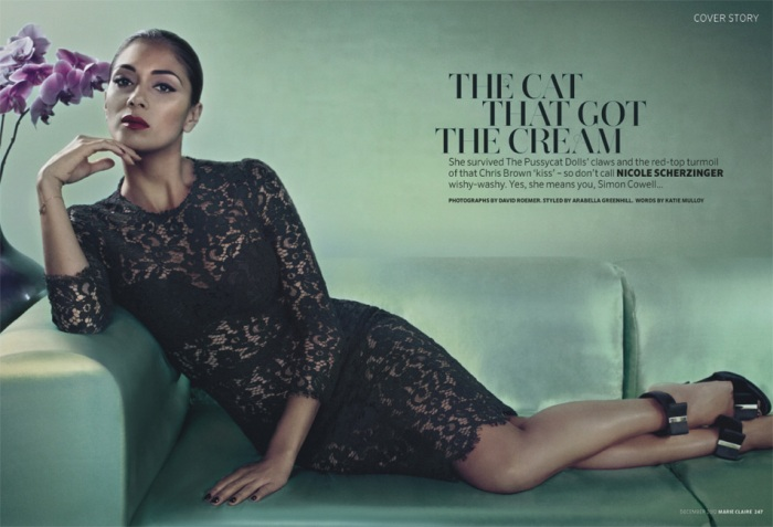Nicole Scherzinger for Marie Claire UK December 2012 [Photos] 002