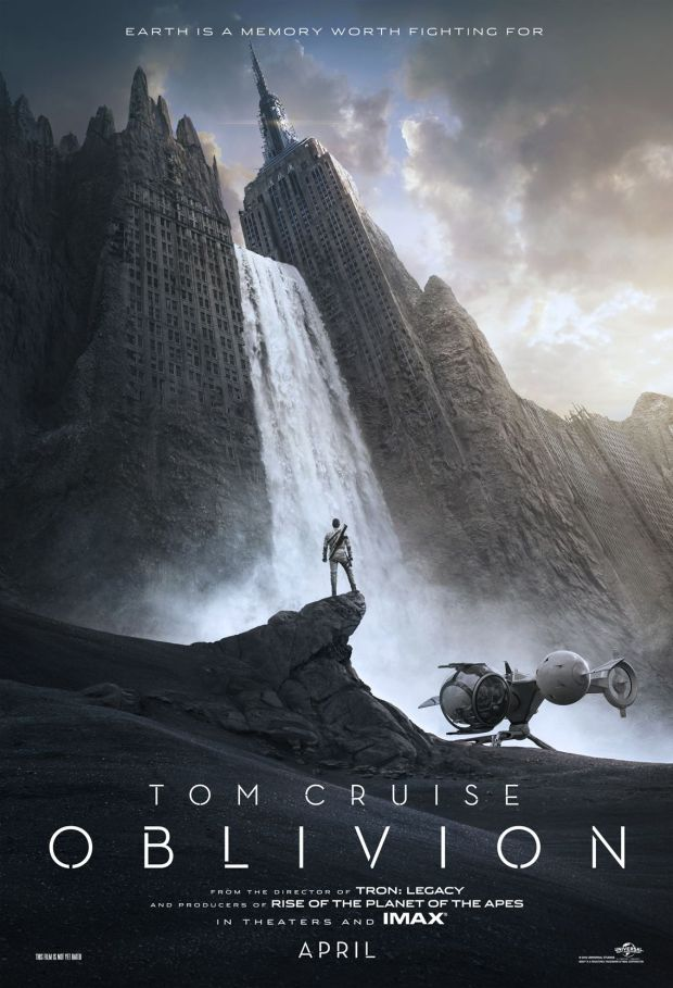 Oblivion Trailer Tom Cruise in a Science Fiction Epic [Movie Trailer] Poster