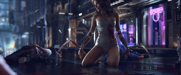Cyberpunk 2077 Teaser Trailer [Games]009
