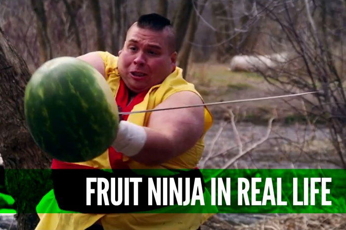 Fruit-Ninja-in-Real-Life-to-Dubstep-[Viral]