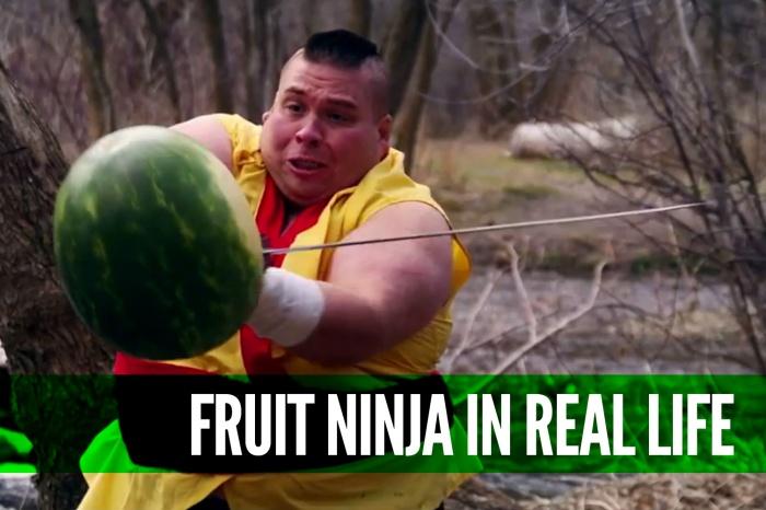 Fruit-Ninja-in-Real-Life-to-Dubstep-[Viral]
