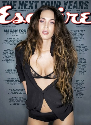 Megan Fox Covers February 2013 issue of Esquire [Photos] 001