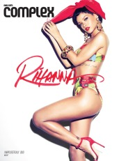 Rihanna's Seven Covers for Complex Magazine [Photos] 005