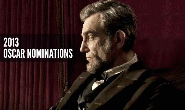 The 2013 Oscar nominations have been announced