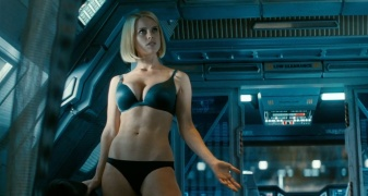 FIRST LOOK- New International Star Trek Into Darkness Trailers [Movies] girl
