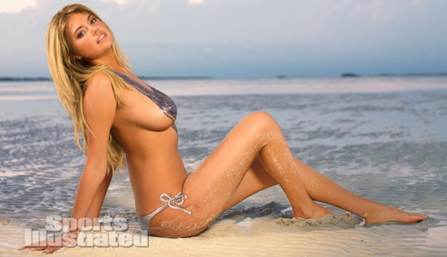 Kate Upton Naked Body Paint Photos 2013 [Photos] 01