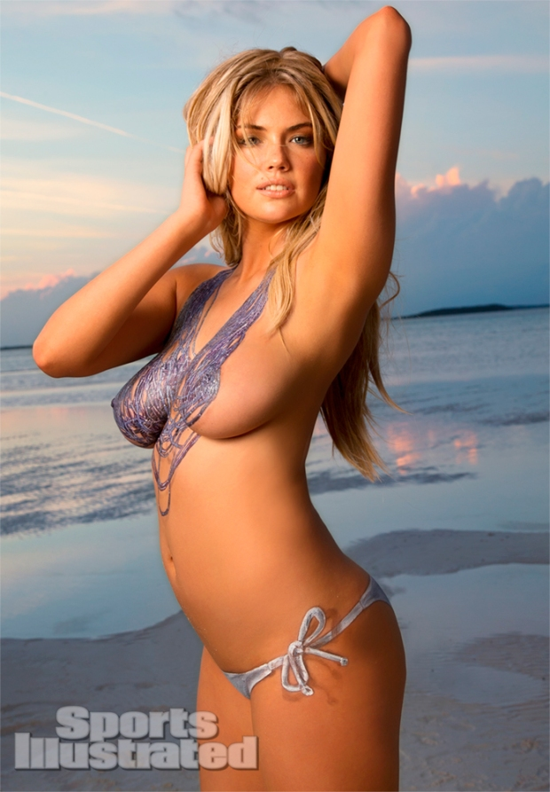 Kate Upton Naked Body Paint Photos 2013 [Photos] 06