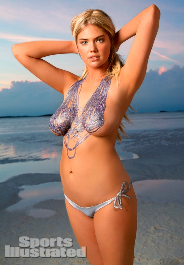 Kate Upton Naked Body Paint Photos 2013 [Photos] 09