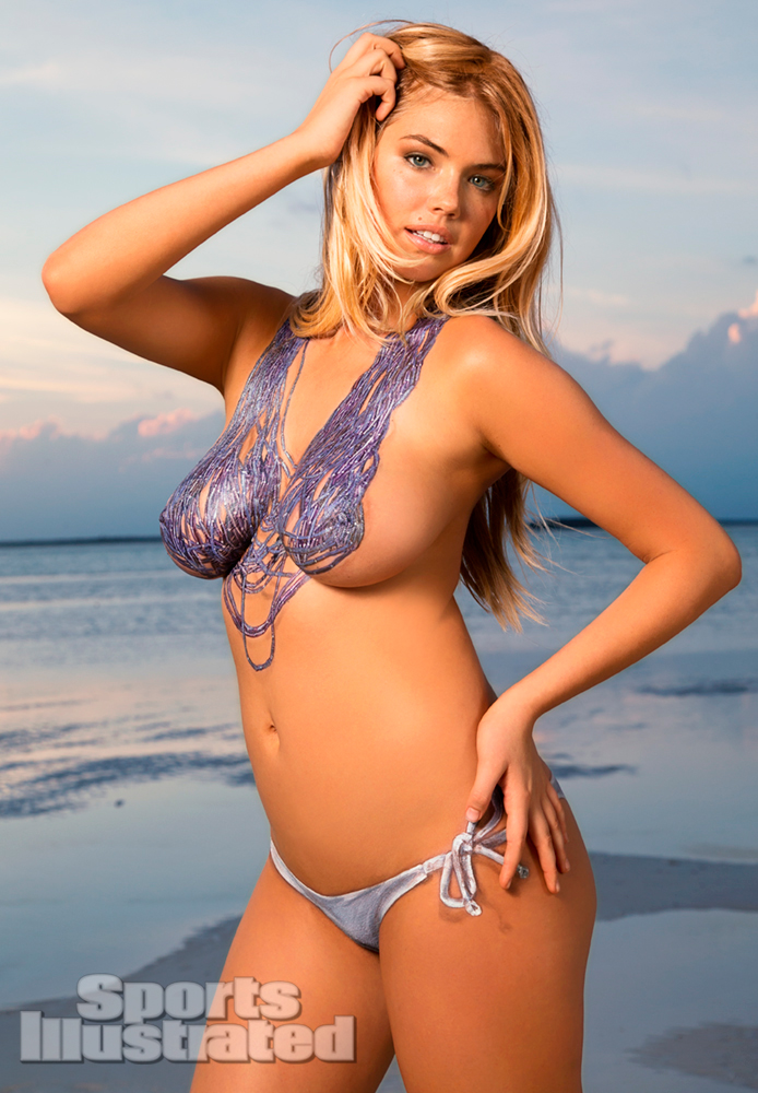 Kate Upton Naked Body Paint Photos 2013 [Photos] 10