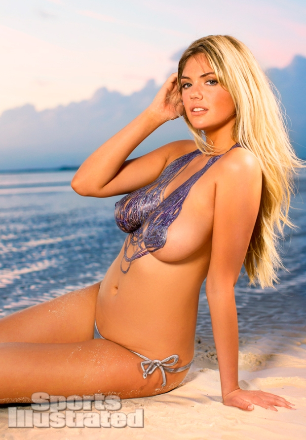Kate Upton Naked Body Paint Photos 2013 [Photos] 11