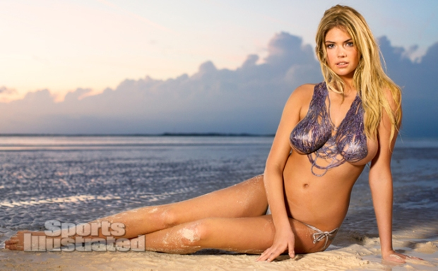 Kate Upton Naked Body Paint Photos 2013 [Photos] 12