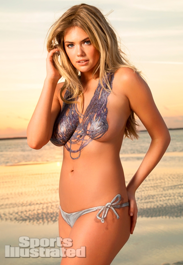 Kate Upton Naked Body Paint Photos 2013 [Photos] 13