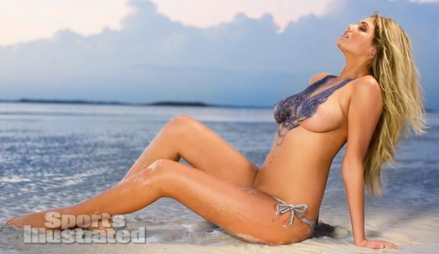 Kate Upton Naked Body Paint Photos 2013 [Photos] 15
