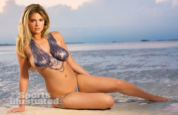 Kate Upton Naked Body Paint Photos 2013 [Photos] 16