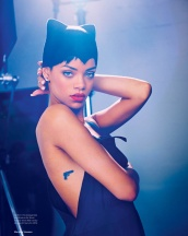 Sexy Rihanna Covers ELLE UK Magazine April 2013 [Photos] 03