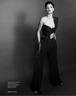 Sexy Rihanna Covers ELLE UK Magazine April 2013 [Photos] 07