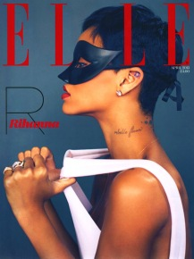Sexy Rihanna Covers ELLE UK Magazine April 2013 [Photos] 09