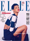 Sexy Rihanna Covers ELLE UK Magazine April 2013 [Photos] 10