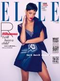 Sexy Rihanna Covers ELLE UK Magazine April 2013 [Photos] 12