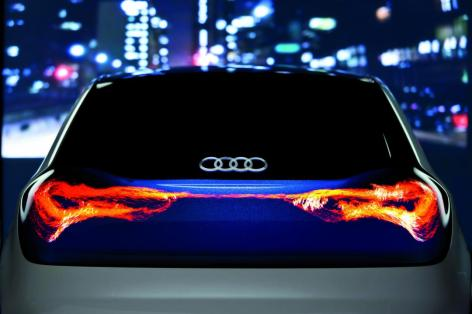 AUDI's New Automotive Lighting Technologies [Tech] 01