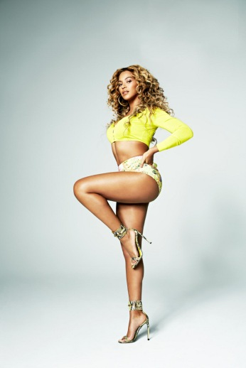 Beyonce Knowles by Cliff Watts for Shape USA April 2013 [Photos] 03