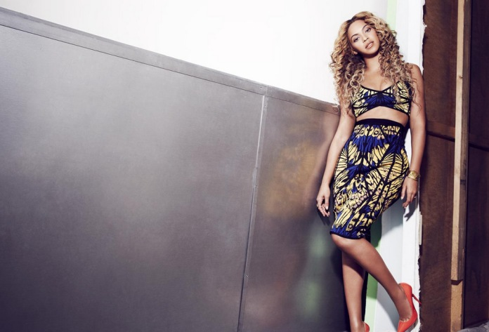 Beyonce Knowles by Cliff Watts for Shape USA April 2013 [Photos] 05