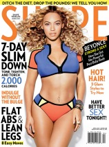 Beyonce Knowles by Cliff Watts for Shape USA April 2013 [Photos] 06