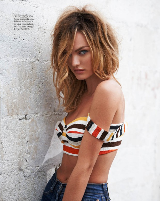Candice Swanepoel in Sexy Denim for Vogue Spain April 2013 [Photos] 05