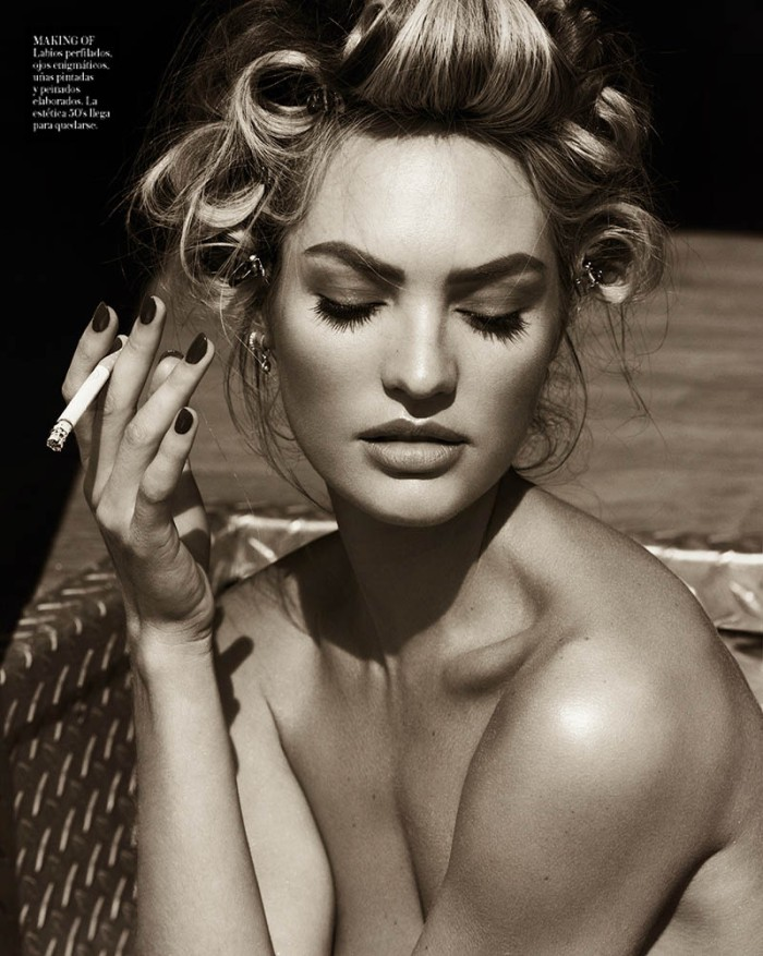 Candice Swanepoel in Sexy Denim for Vogue Spain April 2013 [Photos] 12