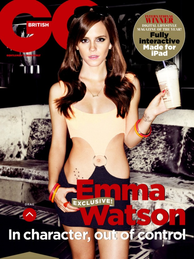 Emma Watson for GQ UK May 2013 01