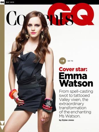Emma Watson for GQ UK May 2013 08