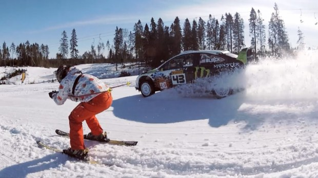 Ken Block Annihilates the Russian Countryside