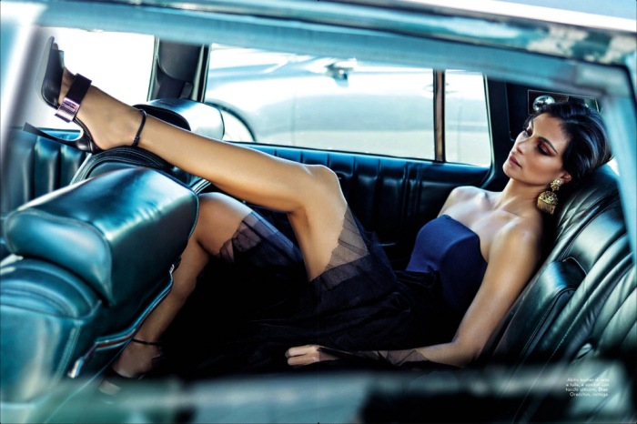 Morena Baccarin for Vanity Fair Italy Magazine April 2013 [Photos] 01