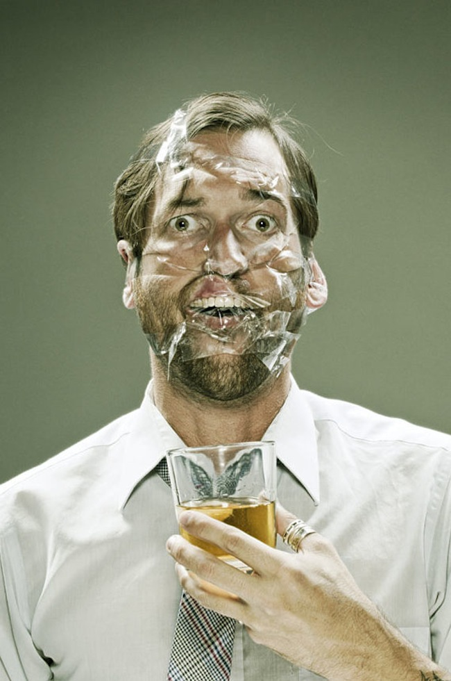 Scotch Taped Faces [Photography] 02