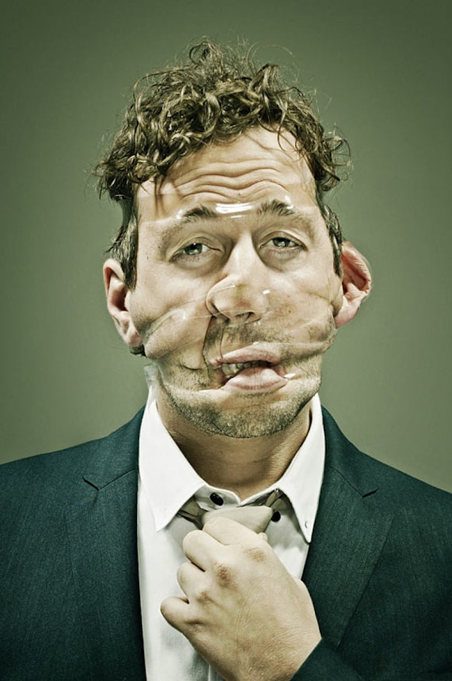 Scotch Taped Faces [Photography] 03