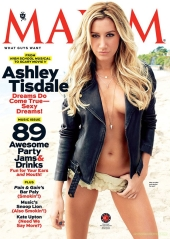Ashley Tisdale Maxim May Cover Girl [Photos] 01