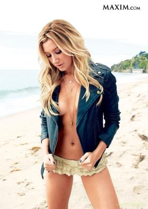 Ashley Tisdale Maxim May Cover Girl [Photos] 04