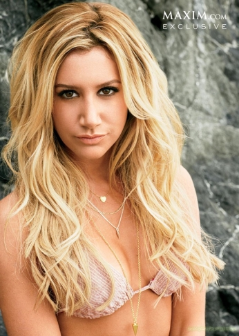 Ashley Tisdale Maxim May Cover Girl [Photos] 05