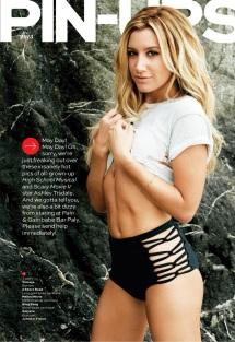 Ashley Tisdale Maxim May Cover Girl [Photos] 20