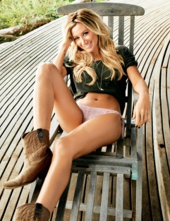Ashley Tisdale Maxim May Cover Girl [Photos] 21