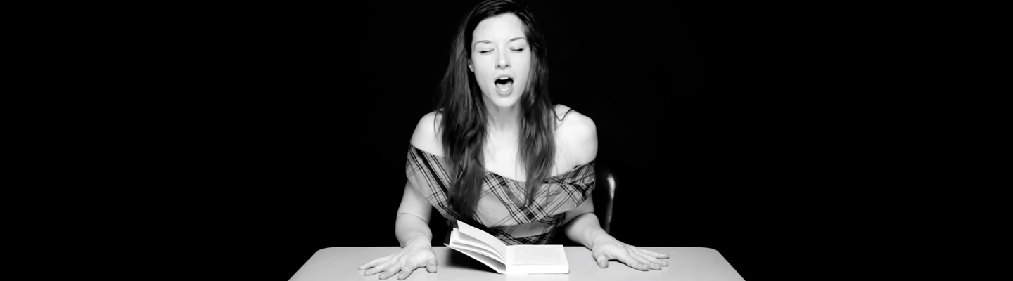 Hysterical Literature: Porn Star Stoya Reading [Viral]